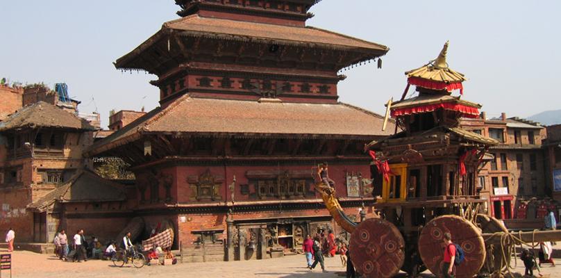 Visite des monuments principaux au Népal