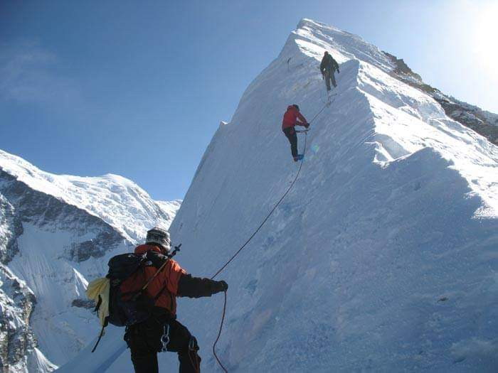 Escalade au Népal